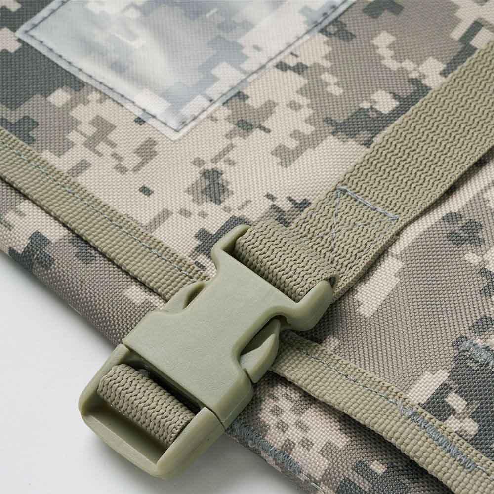 Trusco 數位迷彩-軍綠色系捲筒式工具收納包