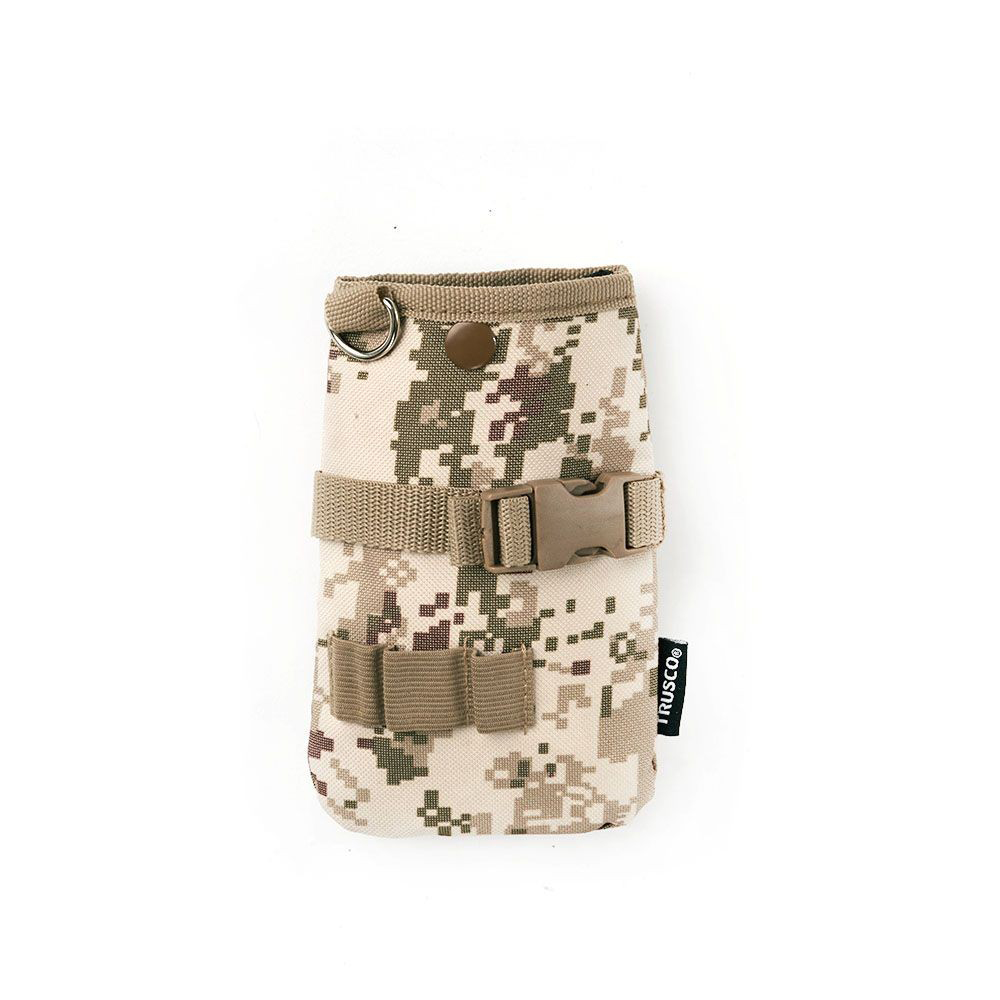 Trusco 數位迷彩-沙漠色系多用途腰間收納袋(小)(TCM-C11)