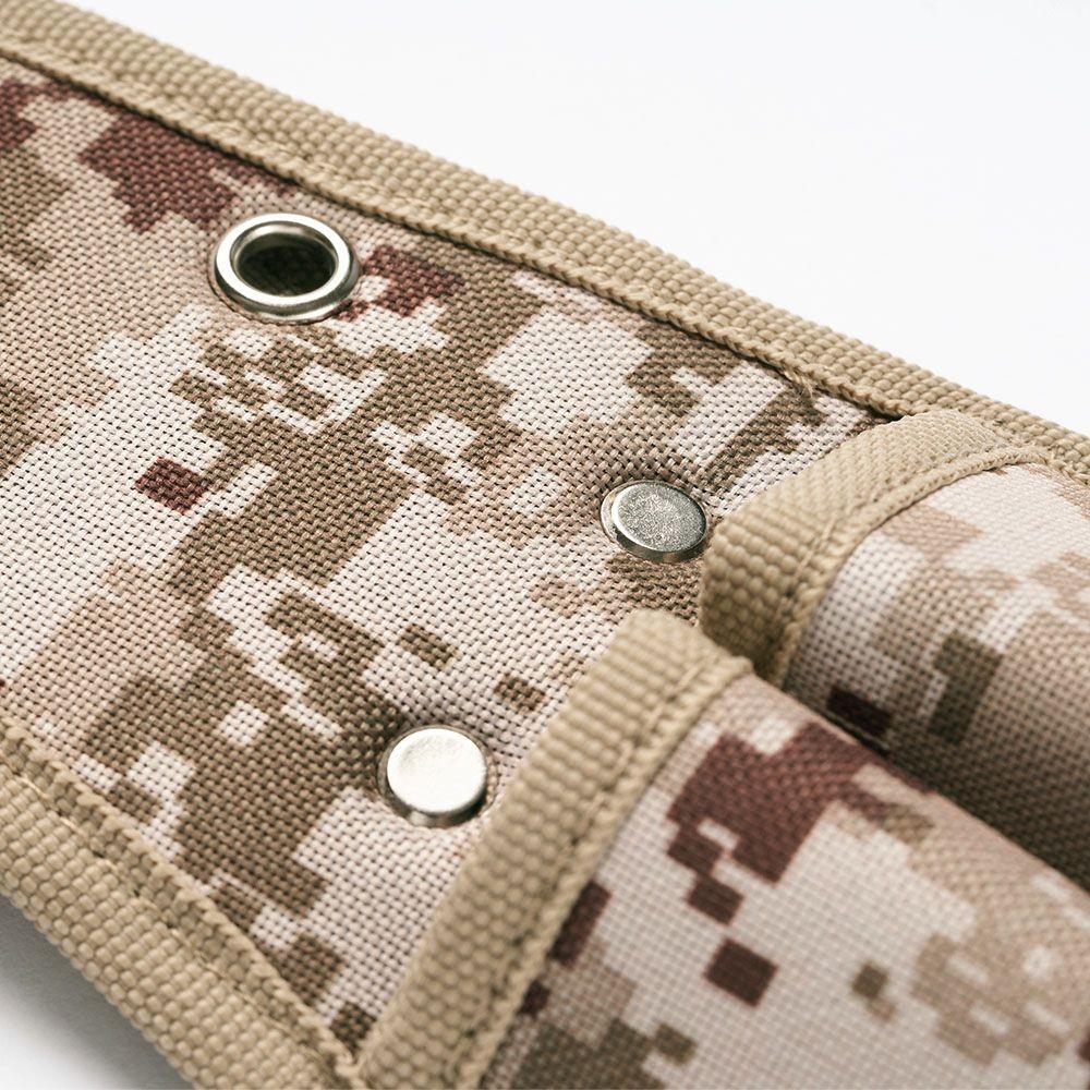 Trusco|數位迷彩-沙漠色系起子腰間收納袋 2入型