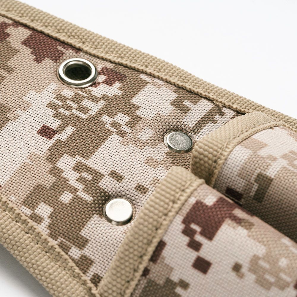 Trusco|數位迷彩-沙漠色系起子腰間收納袋 2入型(TCM-D11)