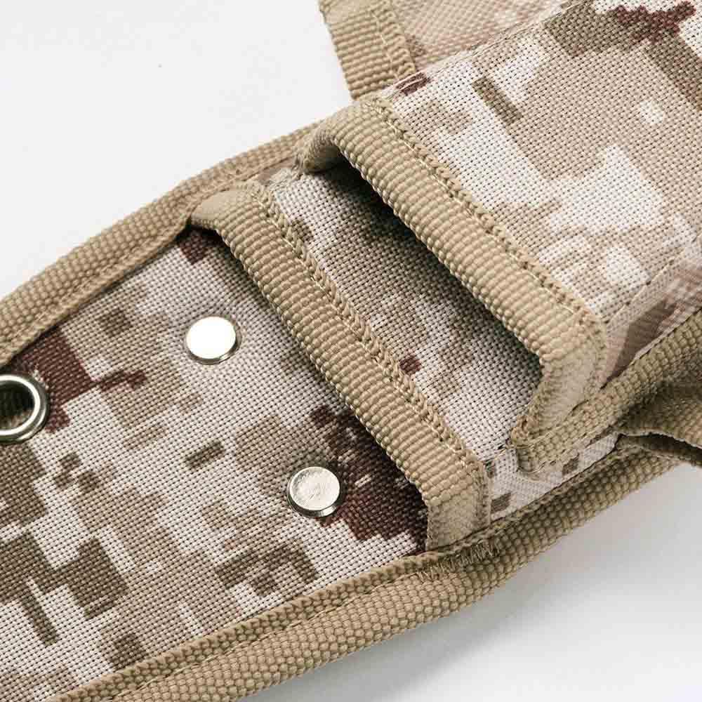 Trusco|數位迷彩-沙漠色系鉗子起子腰間收納袋 4入型