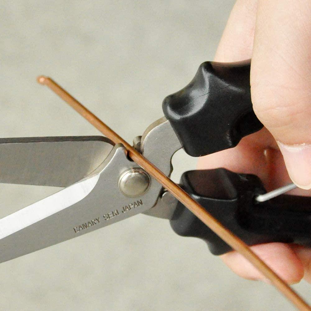 日本CANARY|剪刀大力士 多用途附齒剪刀-直刃195mm