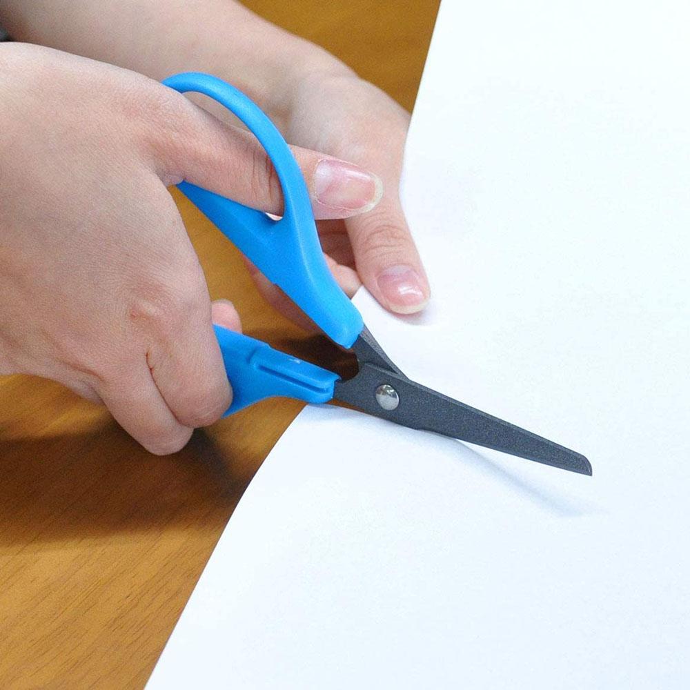 日本CANARY|兒童不粘膠剪刀 150mm