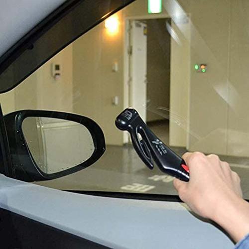 日本CANARY|車用多功能緊急擊破器-黑
