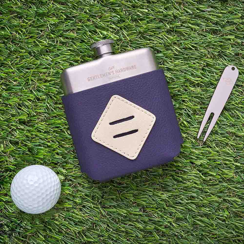 Gentlemen's Hardware 高爾夫球友隨身球叉工具酒瓶套組