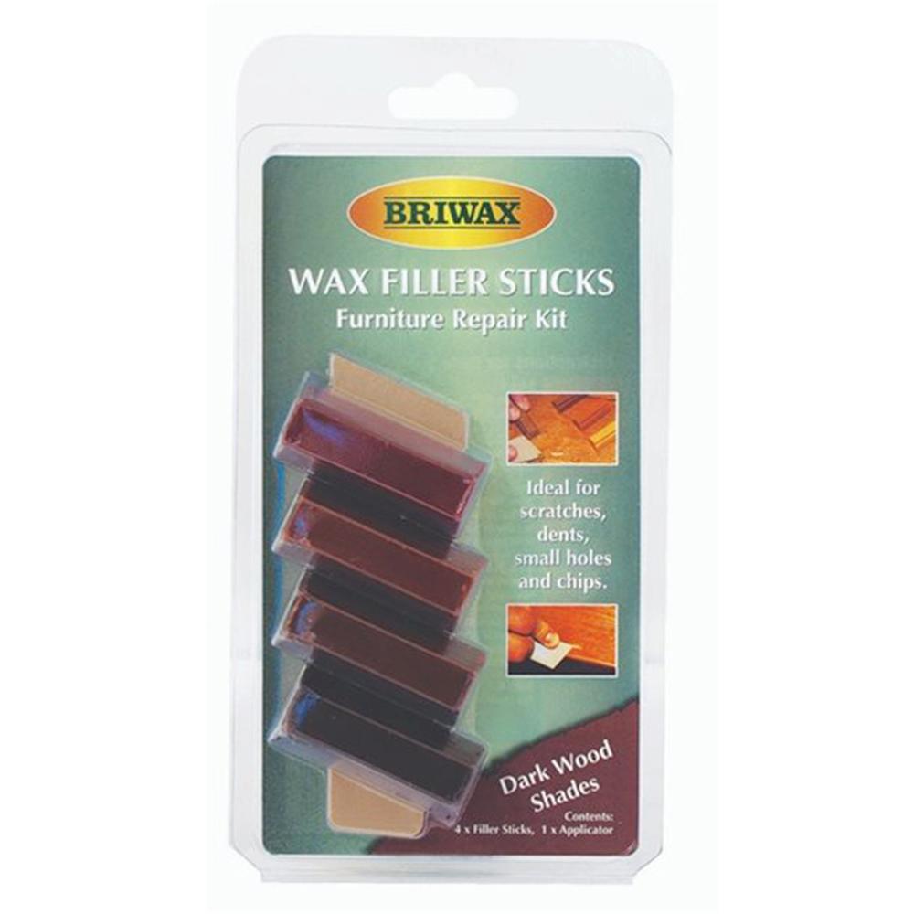 Briwax 木製品補色修復棒-深色系