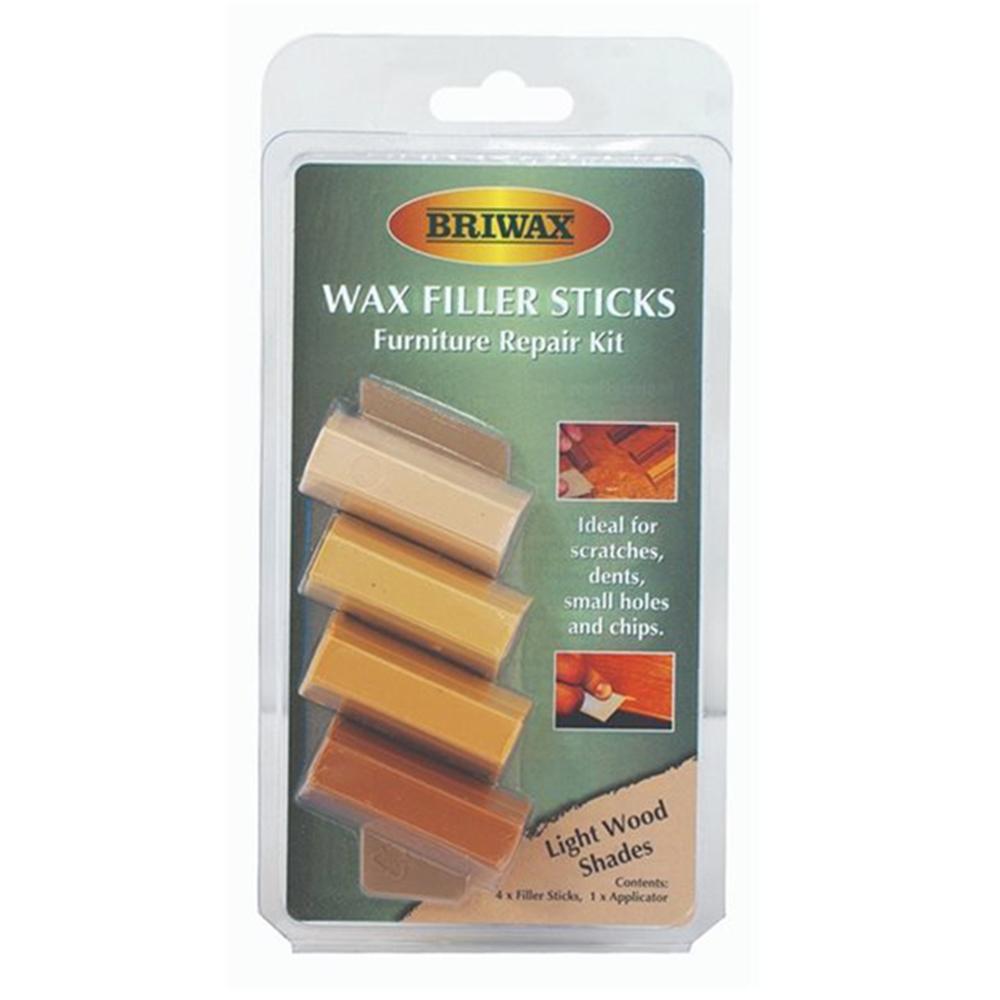 Briwax|木製品補色修復棒-淺色系