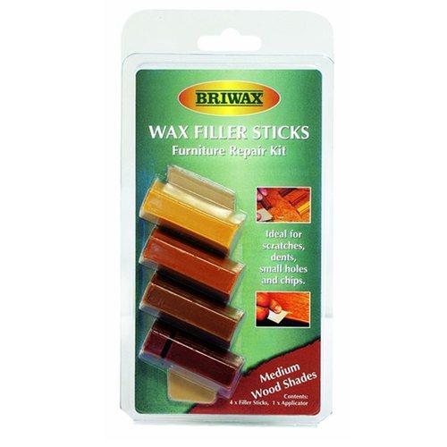 Briwax|木製品補色修復棒-中間色系