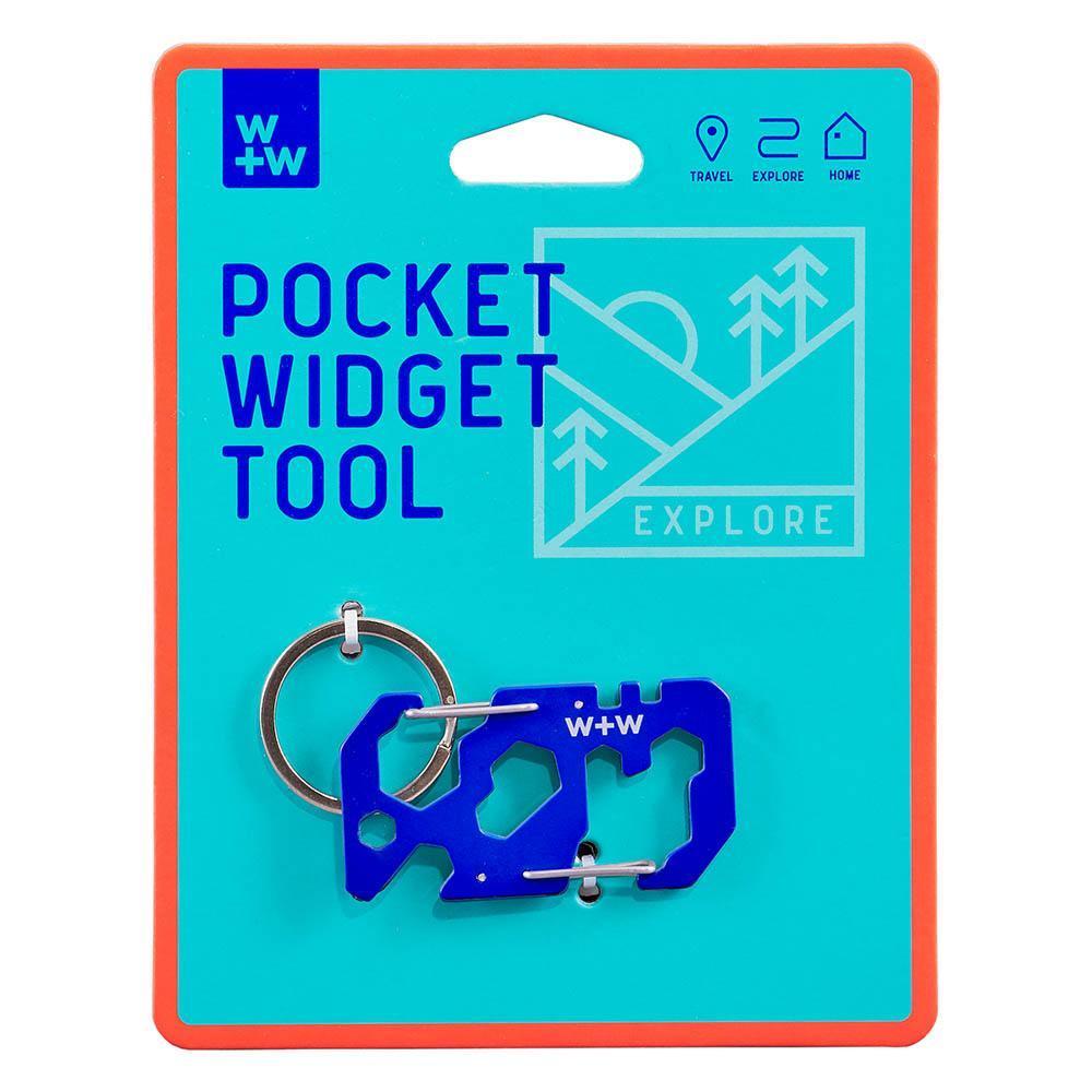 W+W|迷你多功能卡片工具鑰匙圈