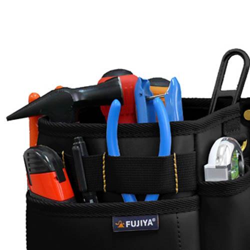 FUJIYA日本富士箭|防潑水腰間工具收納袋-三層型