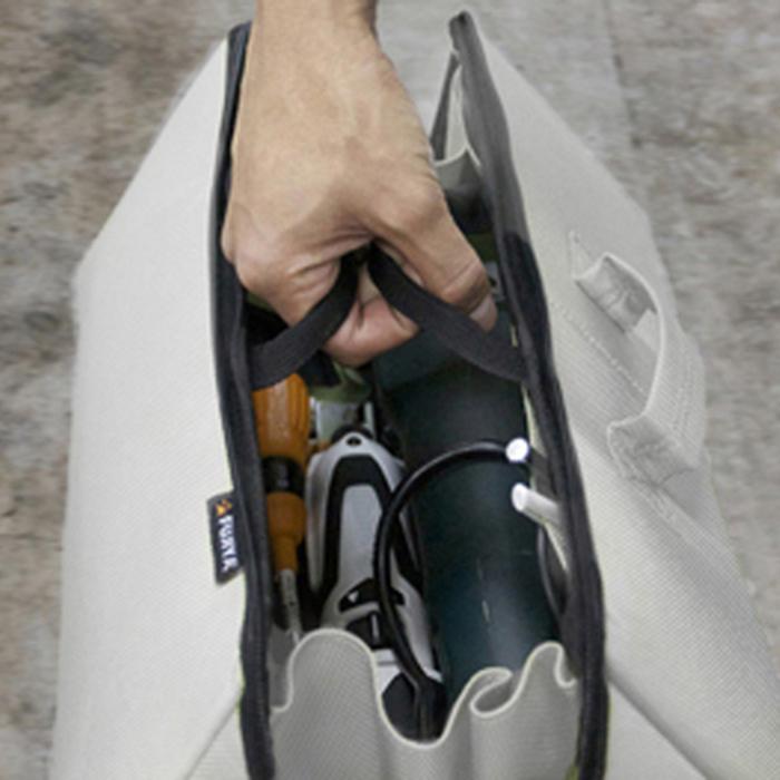 (複製)FUJIYA日本富士箭 (限量)高緩衝大開口工具收納袋(大)-迷彩藍/黑
