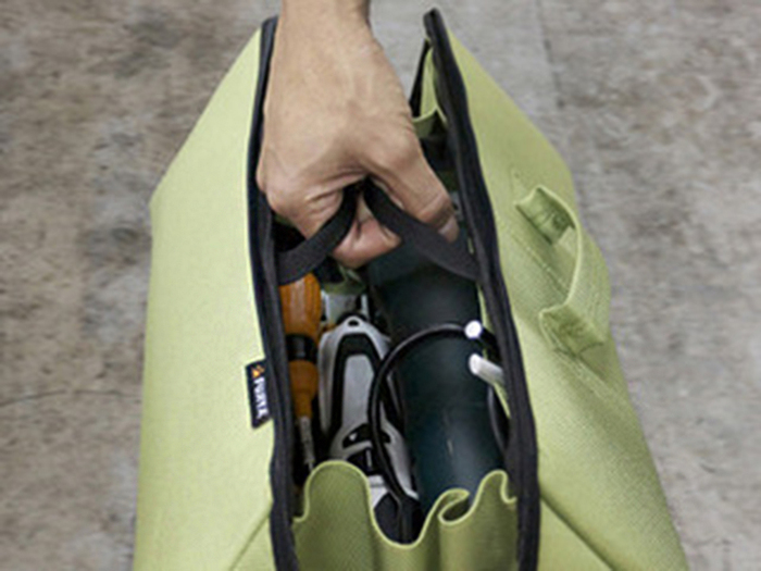 (複製)FUJIYA日本富士箭 經典高緩衝大開口工具收納袋(特大)-科技灰-FTC2-2LIG