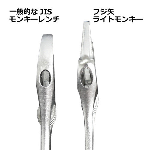 FUJIYA日本富士箭 超大開口輕量活動板手-53mm