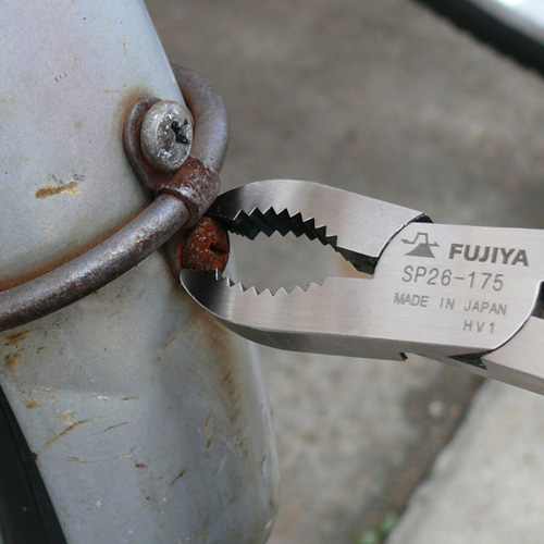 FUJIYA日本富士箭 螺絲拔起鉗175mm