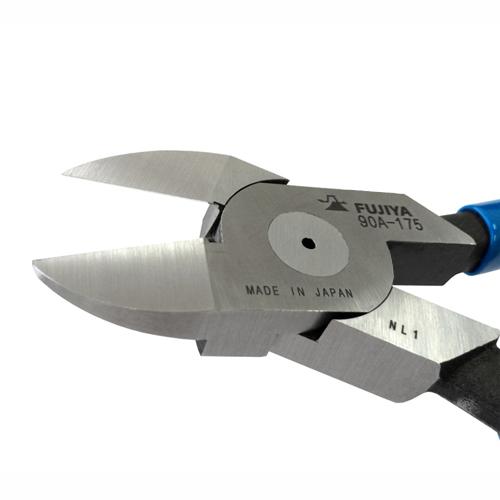 FUJIYA日本富士箭 平刃塑膠斜口鉗200mm