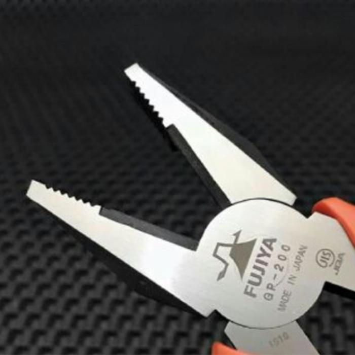 (複製)FUJIYA日本富士箭|膠柄鋼絲鉗150mm