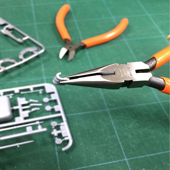 (複製)FUJIYA日本富士箭|極細鑷型彎頭尖口鉗150mm