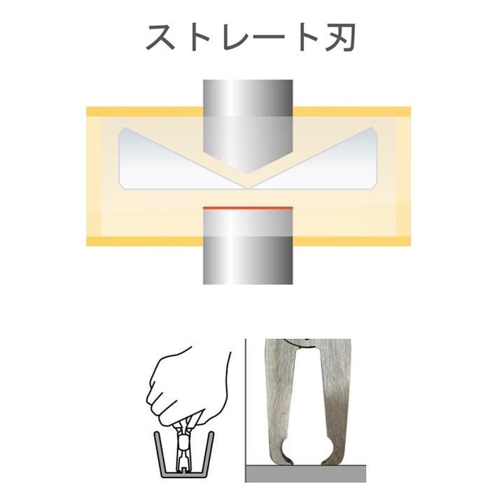 (複製)FUJIYA日本富士箭|極細刃塑膠斜口鉗150mm