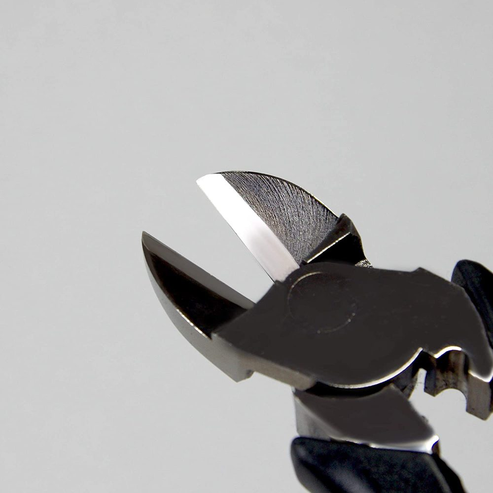 FUJIYA日本富士箭|強力型斜口鉗-偏芯薄刃200mm(黑金)-7700N-200BG