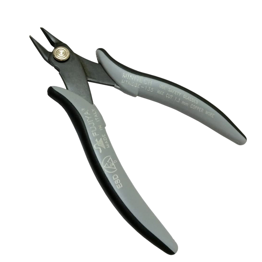 FUJIYA日本富士箭|歐式薄型電子斜口鉗-抗靜電135mm
