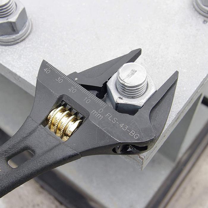 (複製)FUJIYA日本富士箭 活動板手大開口32mm(短版黑金)