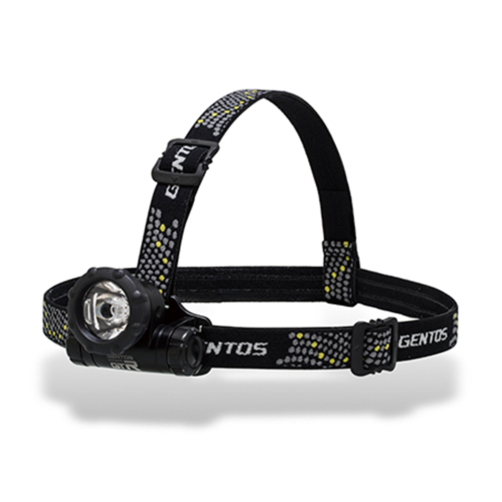 Gentos|GTR專業輕量頭燈-80流明 IPX4