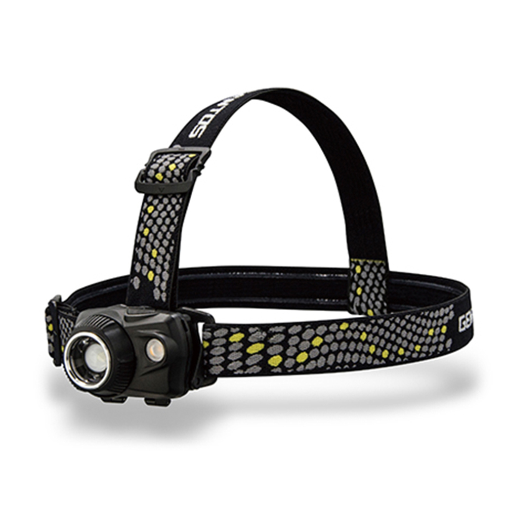 Gentos|W Star專業高亮度頭燈-USB充電 550流明 IP64