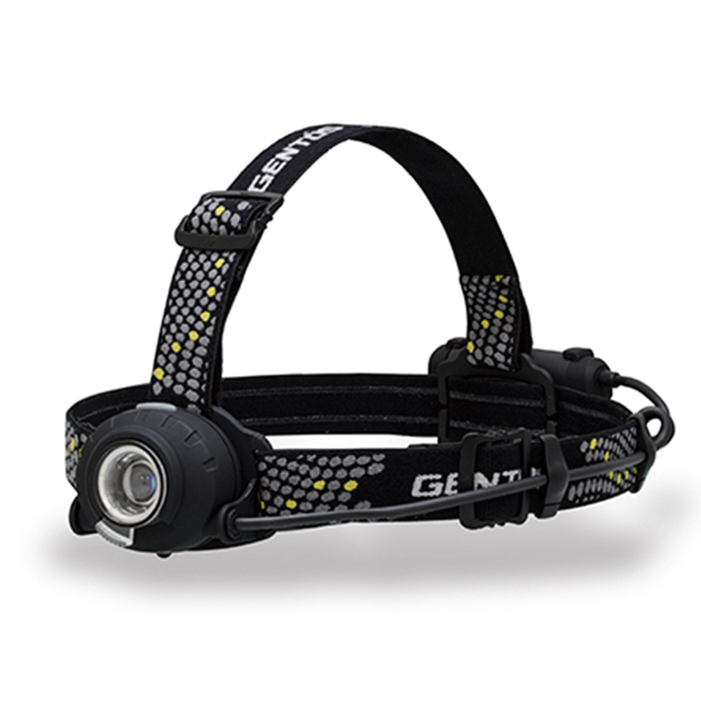 Gentos|Head Wars後方警示專業頭燈-350流明 IP64