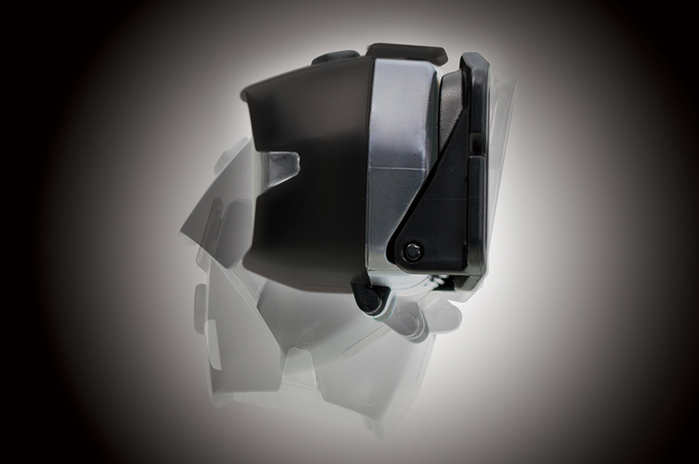 (複製)Gentos|Head Wars後方警示專業頭燈-350流明 IP64