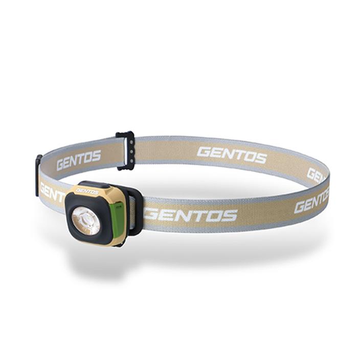 (複製)Gentos|Auva多用途輕量頭燈 附暖黃光- 230流明 IP67