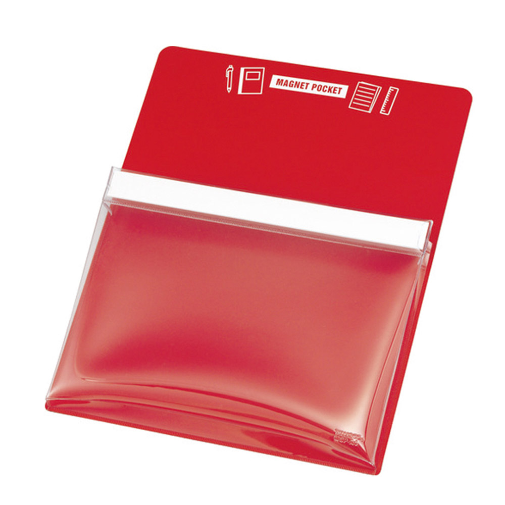 Trusco 磁性收納盒A4-紅