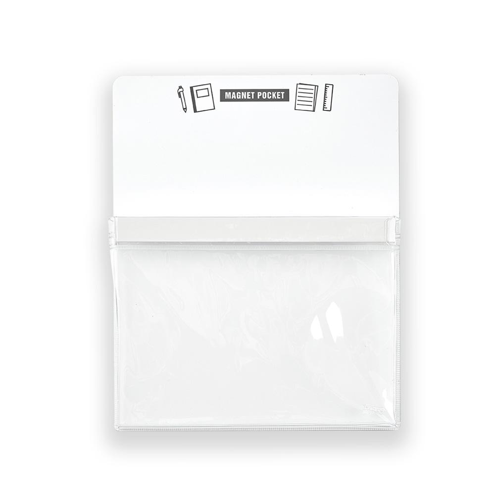 Trusco|磁性收納盒A5-白