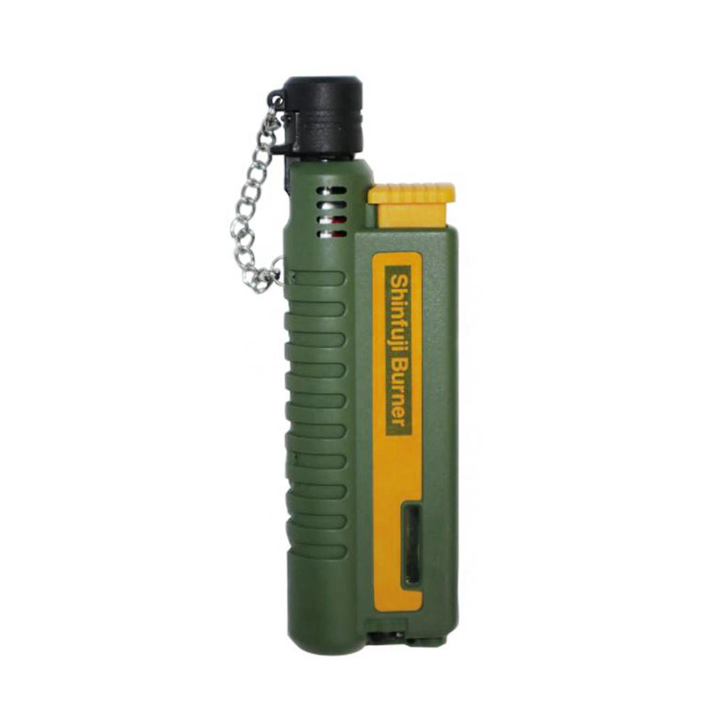 SHINFUJI 新富士|伸縮小型瓦斯噴槍-綠(附防塵蓋)(KB-411C)