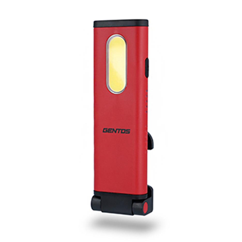 Gentos|小型工作照明燈 -USB充電 -700流明 -IP64 (GZ-123)