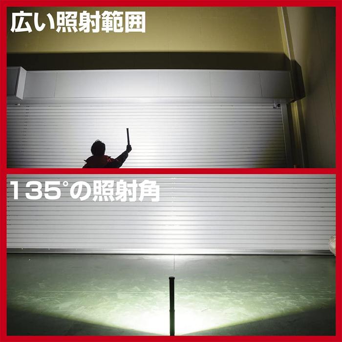 (複製)Gentos|多方向工作照明燈 -USB充電 -125流明 -IP64