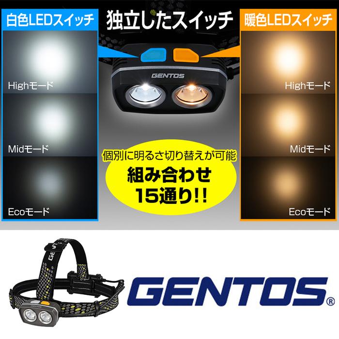 (複製)Gentos|暖黃光頭燈 -210流明 -IP64