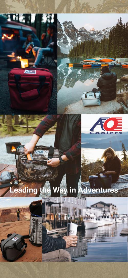 AO COOLERS|酷冷軟式輕量保冷托特包-12罐型-碳纖維風 銀灰