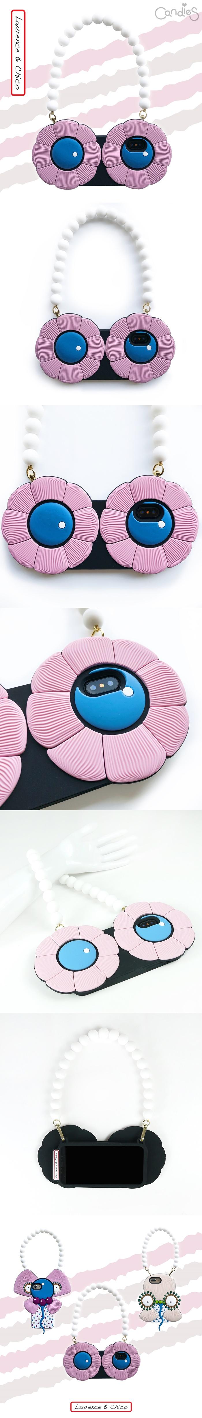 (複製)Candies Blossom系列晚宴包(粉)-IPhone X/XS