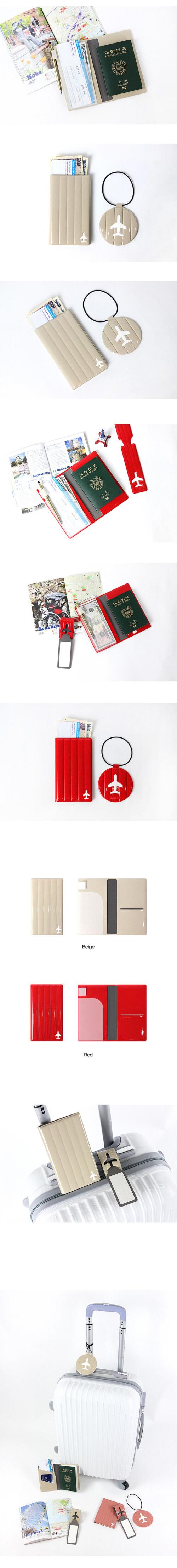 (複製)FENICE|耐衝擊行李吊牌(紅)