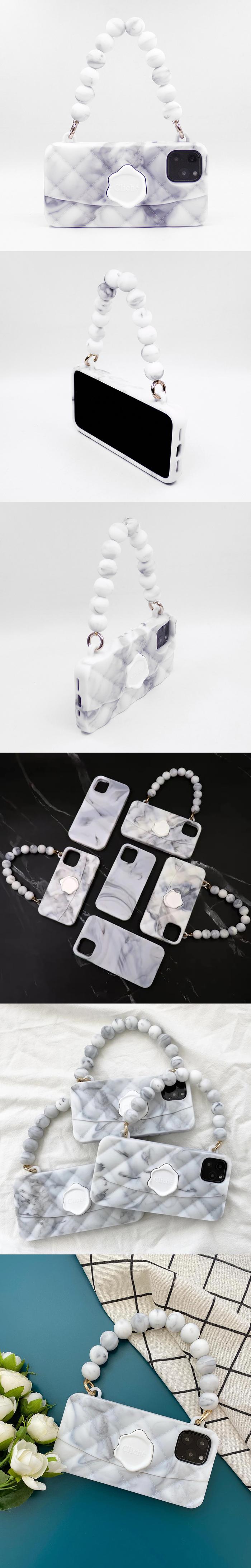 (複製)Candies|幻彩晚宴包(大理石紋) - iPhone 11