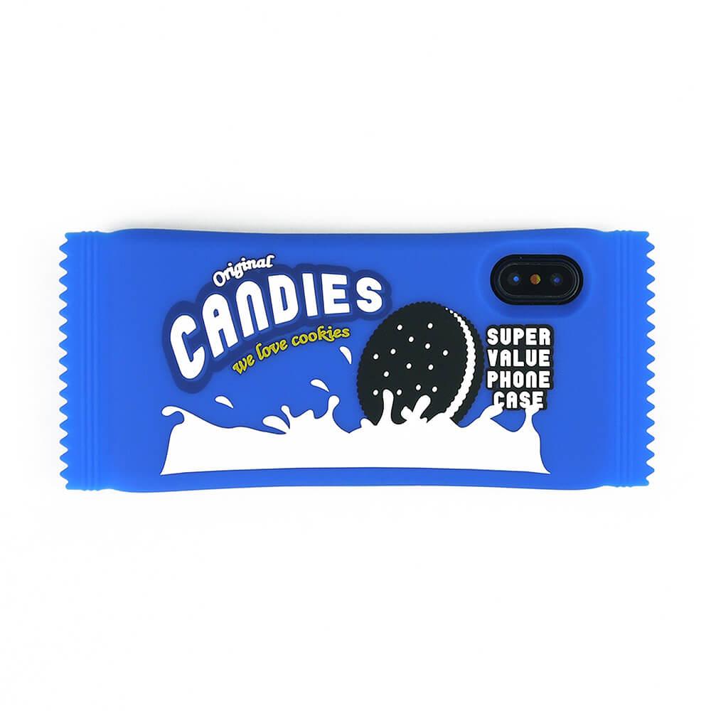 Candies|立體點心手機殼(餅乾)-IPhone X/XS