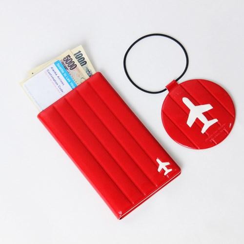 FENICE|M size 耐衝擊護照套(紅)
