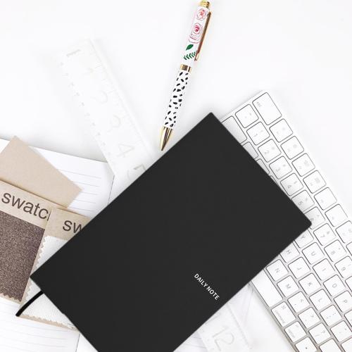 FENICE|FENICE商務系列-插筆式筆記本 M size(黑)
