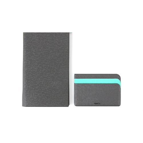 FENICE|FENICE商務系列 - 超薄型紙鈔名片夾(灰)