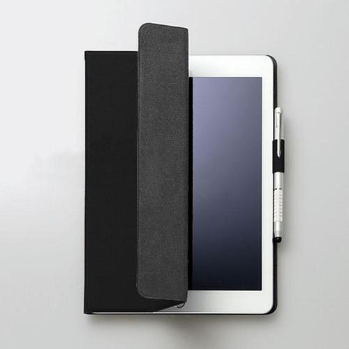 FENICE|超薄型黏貼式I PAD 9.7吋保護皮套(黑)