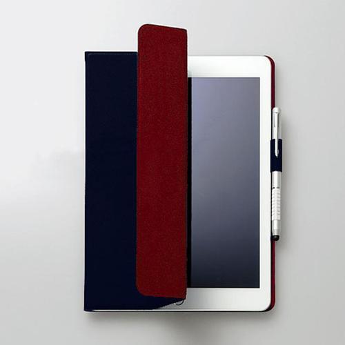FENICE|超薄型黏貼式I PAD PRO 10.5吋保護皮套(深藍)
