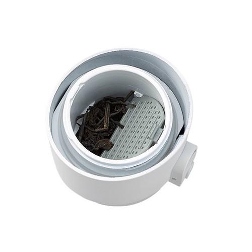 PO:Selected|丹麥掀蓋12oz保溫泡茶杯(粉-黑蓋)