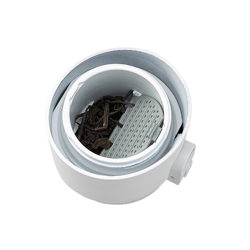 PO:Selected|丹麥掀蓋12oz保溫泡茶杯(土耳其藍-白蓋)