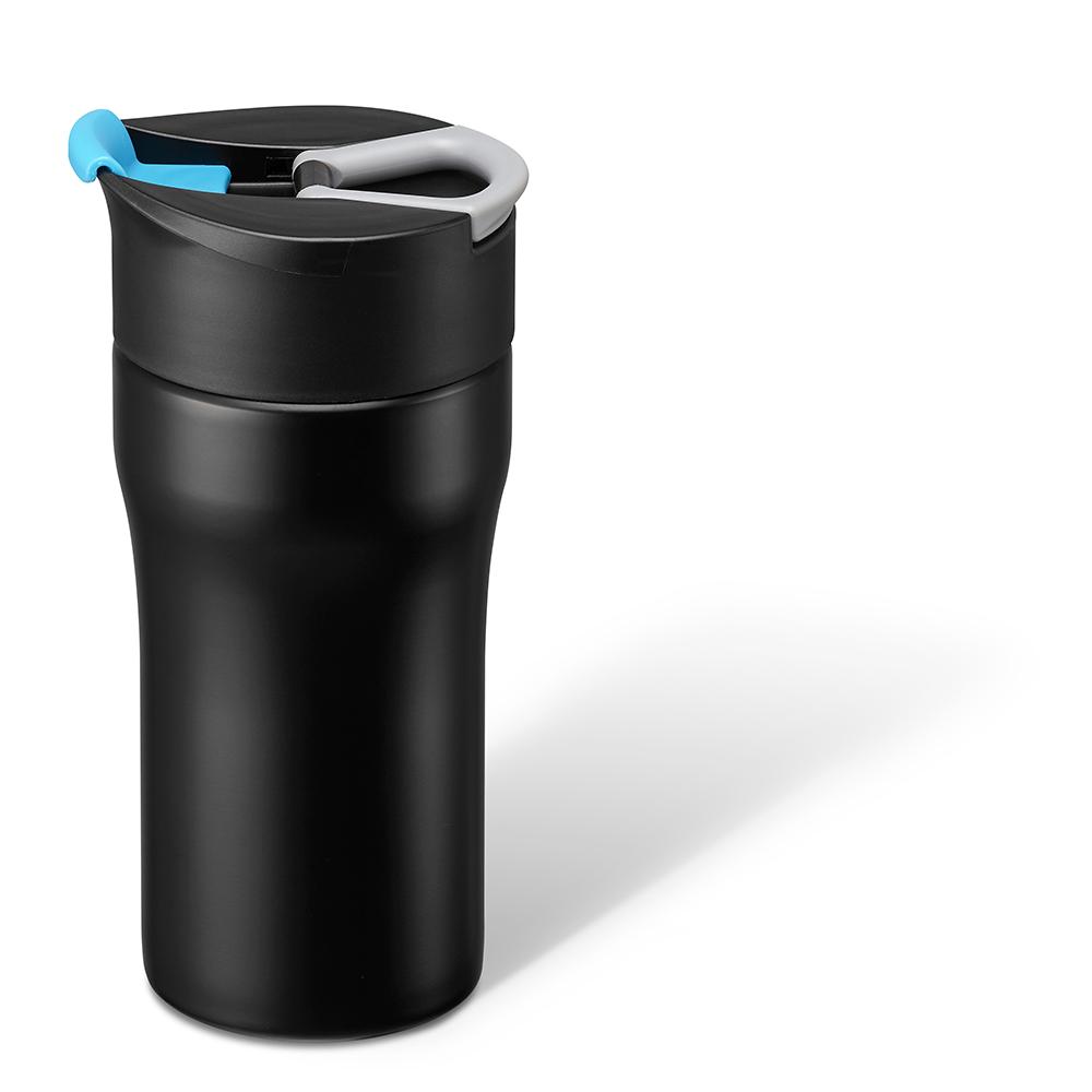 PO:Selected|丹麥便攜法壓保溫咖啡杯12oz (藍)