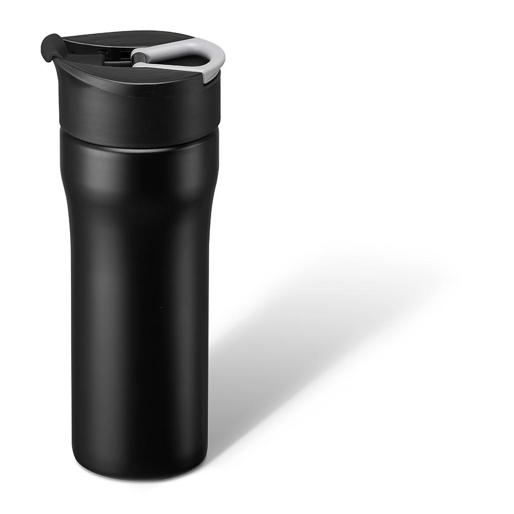 PO:Selected|丹麥便攜法壓保溫咖啡杯16oz (黑)